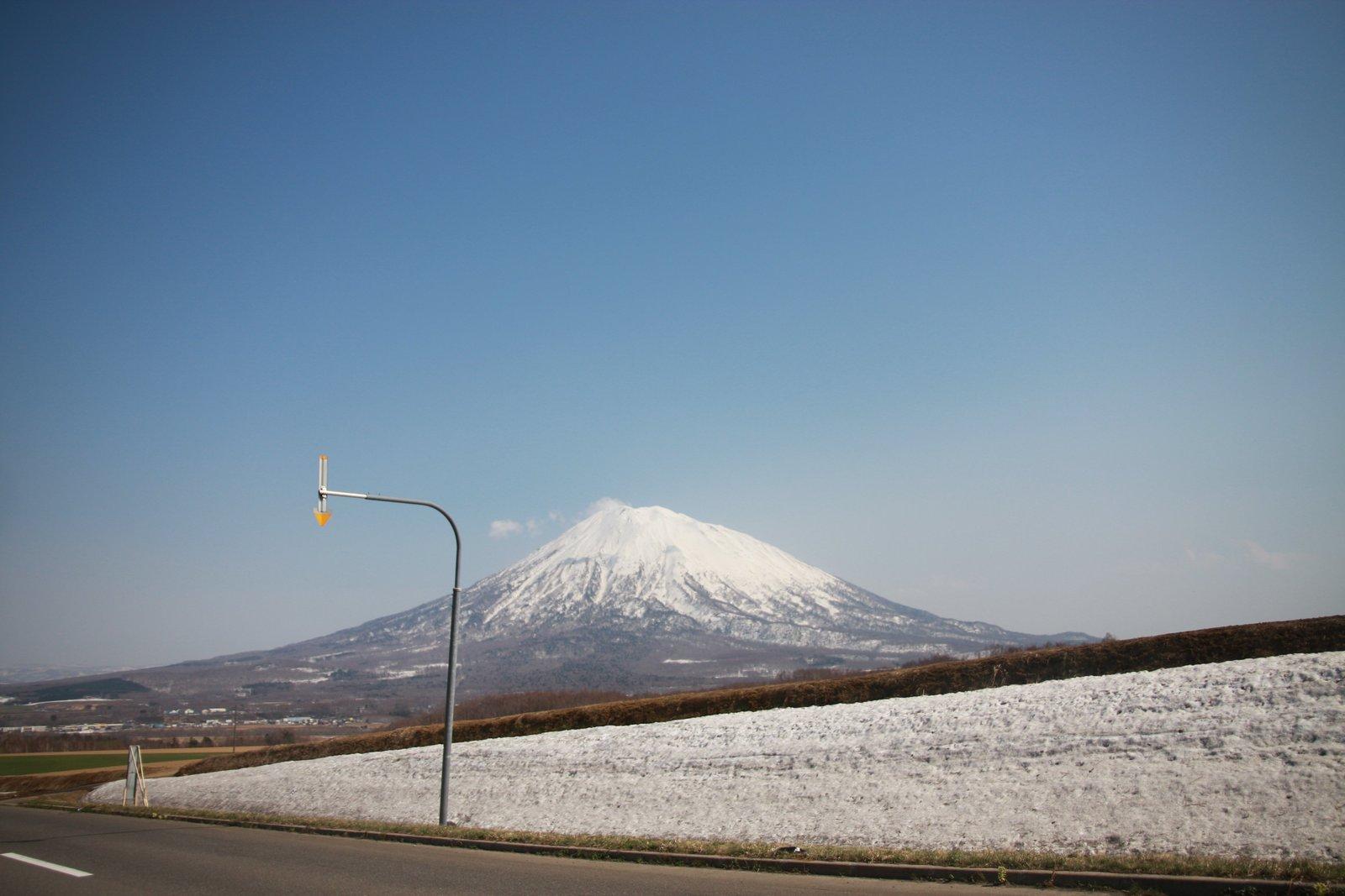 倶知安町花園地区から見る羊蹄山
