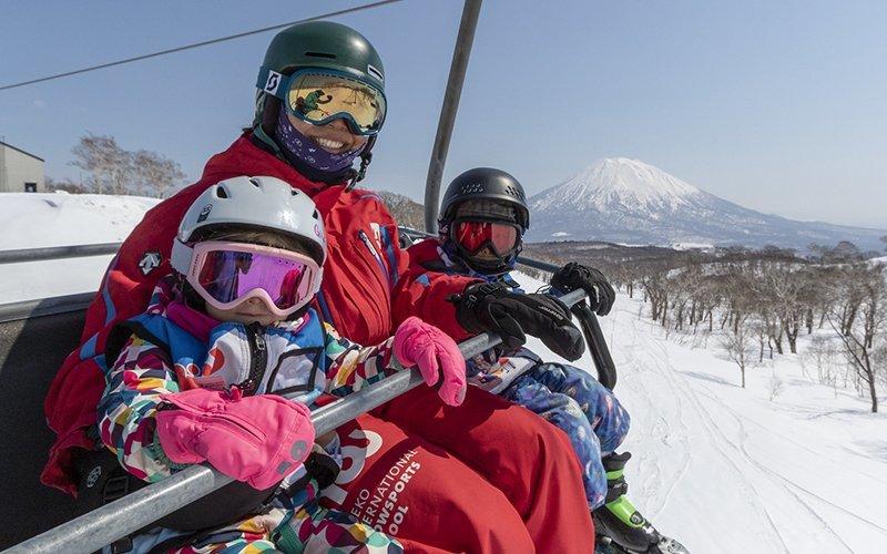 niss early bird discount niseko ski lesson