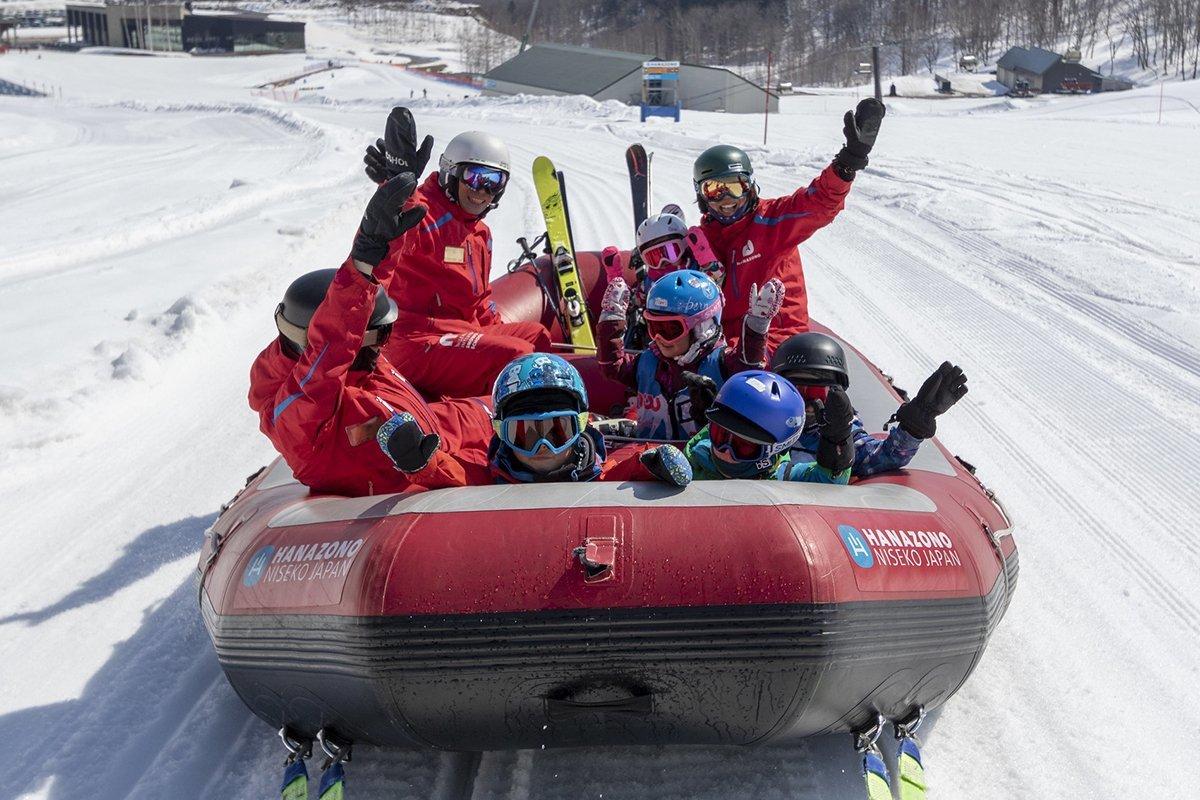 hanazono niseko snow rafting tour