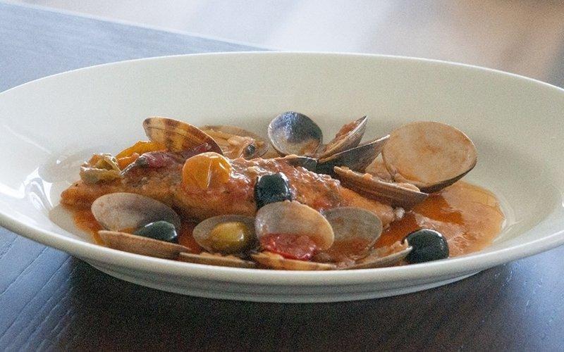coena niseko seafood pasta