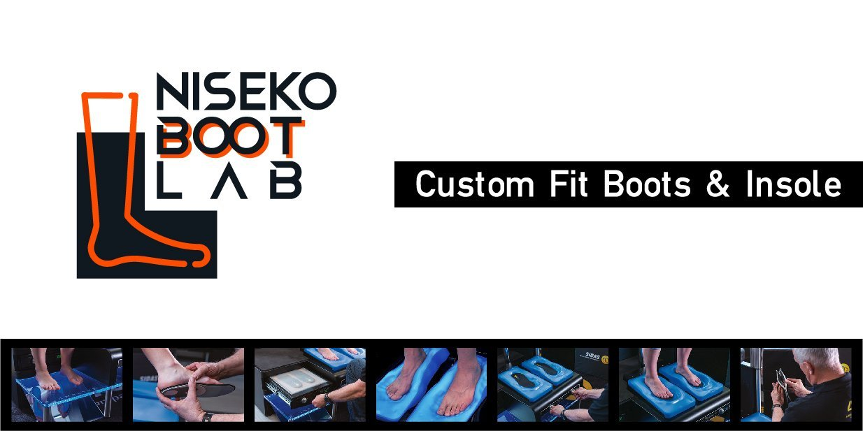 Custom fit ski boots shop Niseko Boot Lab logo