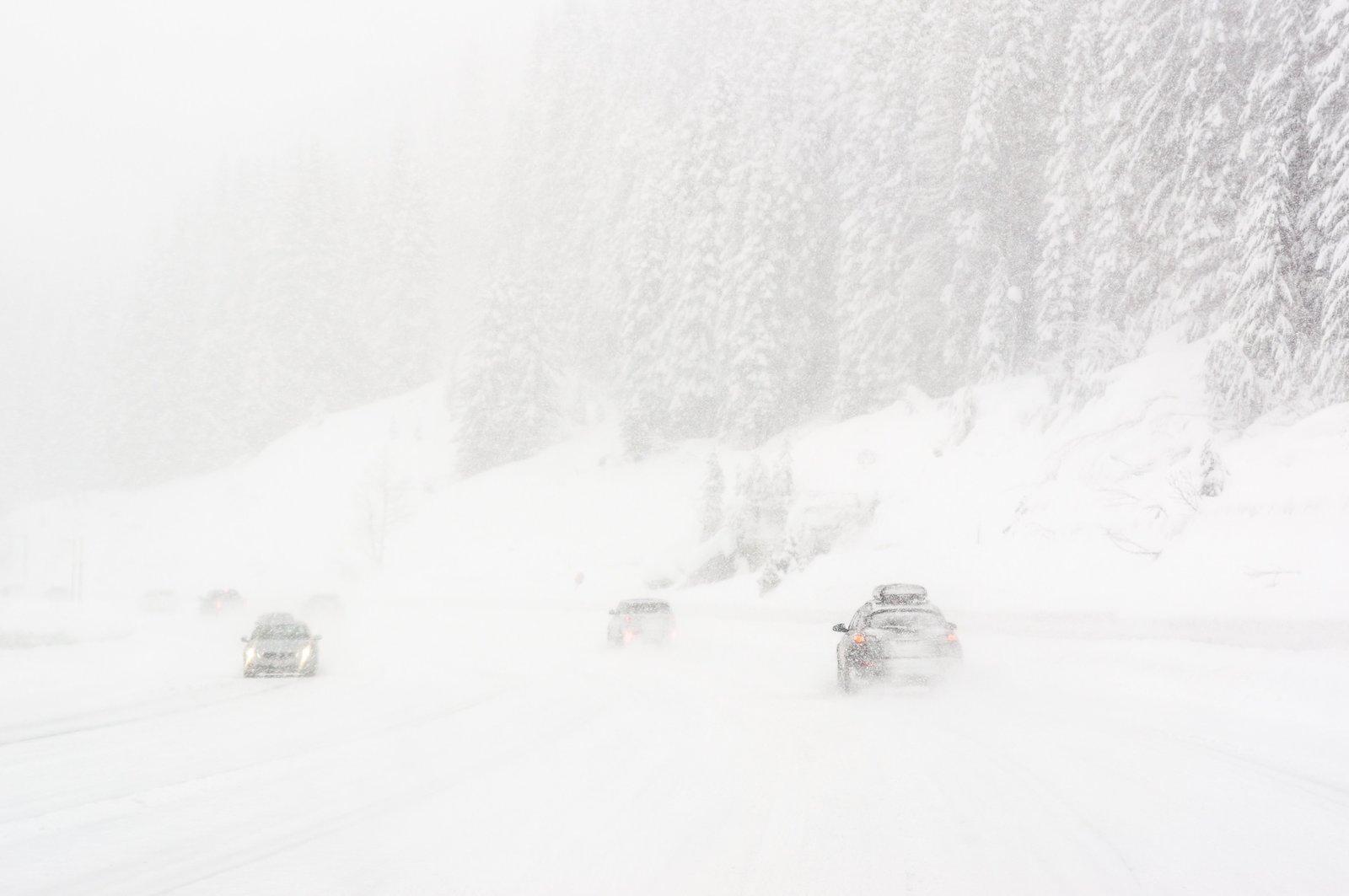 雪の中での運転