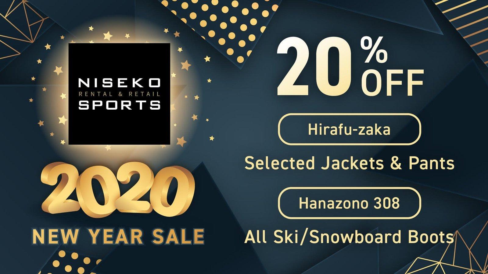 Niseko Sports新年促銷
