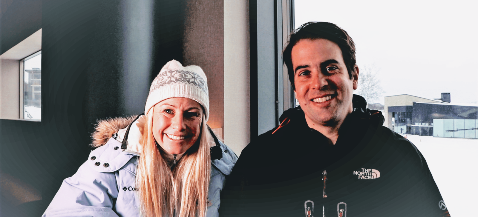 Alisa Camplin and Oliver Camplin talking about their experience in Hanazono Niseko Japan