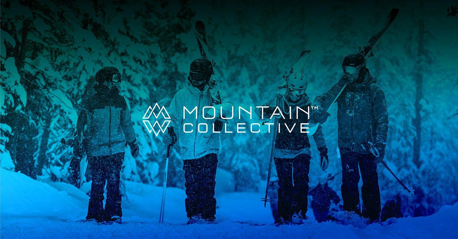 マウンテンコレクティブのリゾートでスキーを楽しむ人々