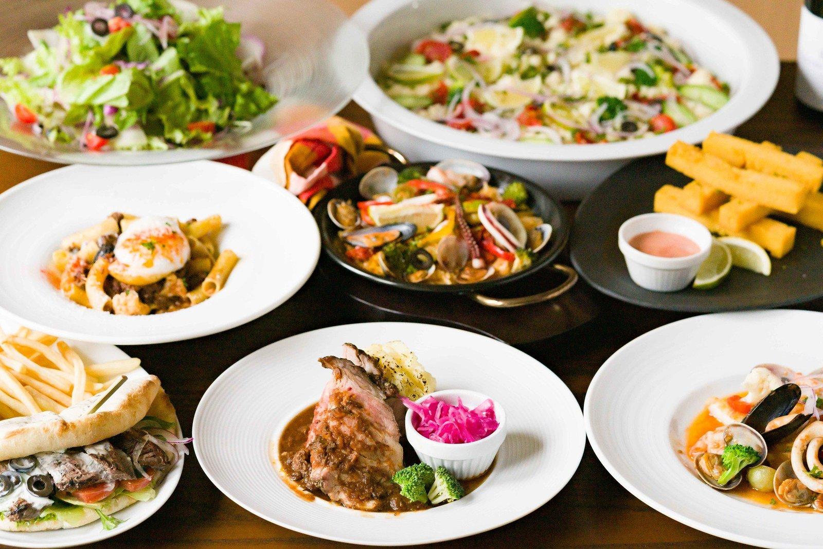 地中海レストランCOENAの料理