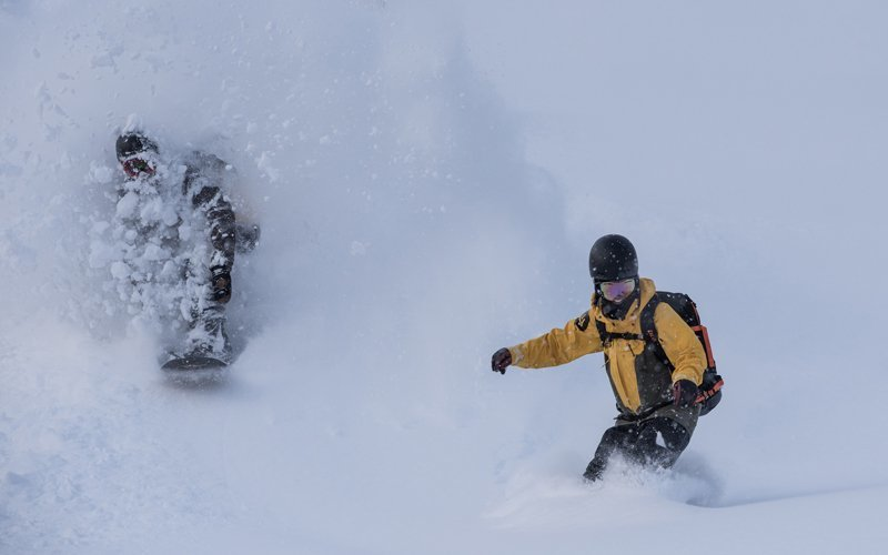 Deep powder at Niseko Weiss Powder CATS