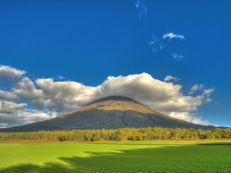 niseko hanazono green season summer mt yotei