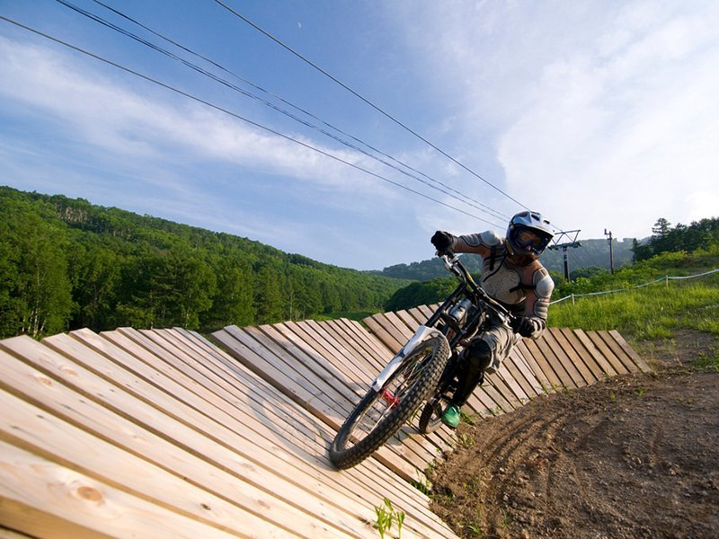 Niseko Mountain Biking Tours Hanazono