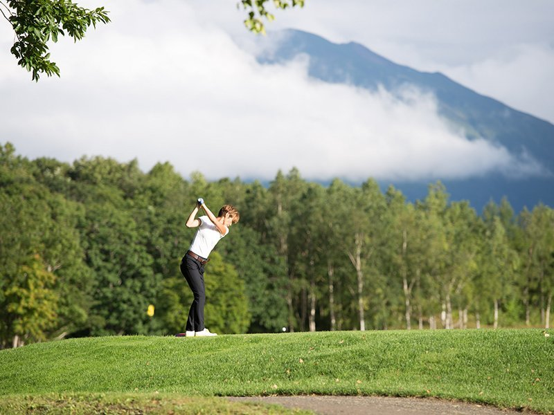 Hanazono Golf Niseko Pro AM Mt Yotei