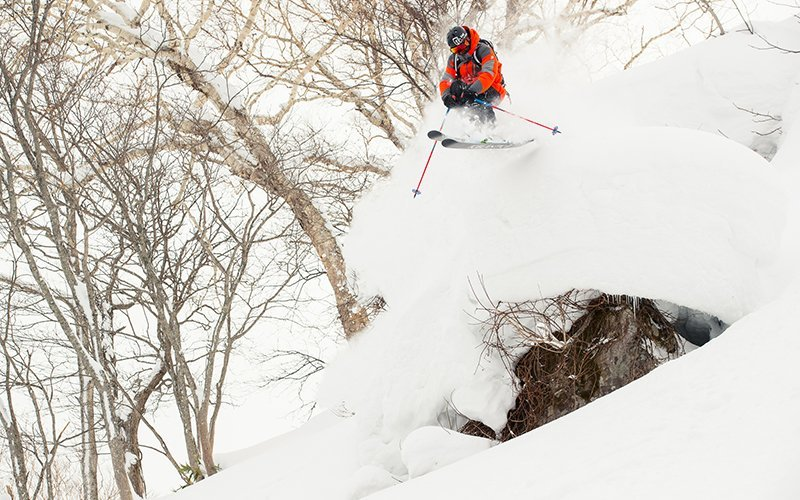 julian carr hanazono powder skiing