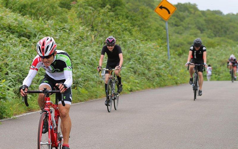 Hanazono Hill Climb cycling race