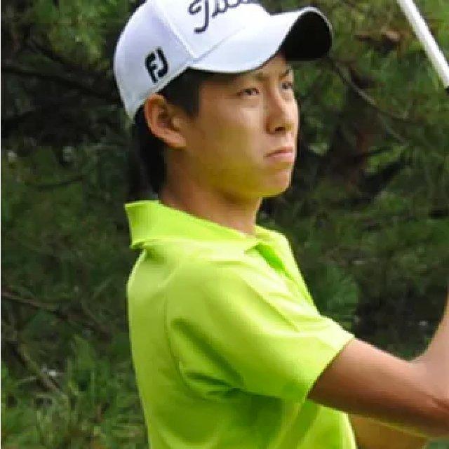 プロゴルファー、水町洵選手