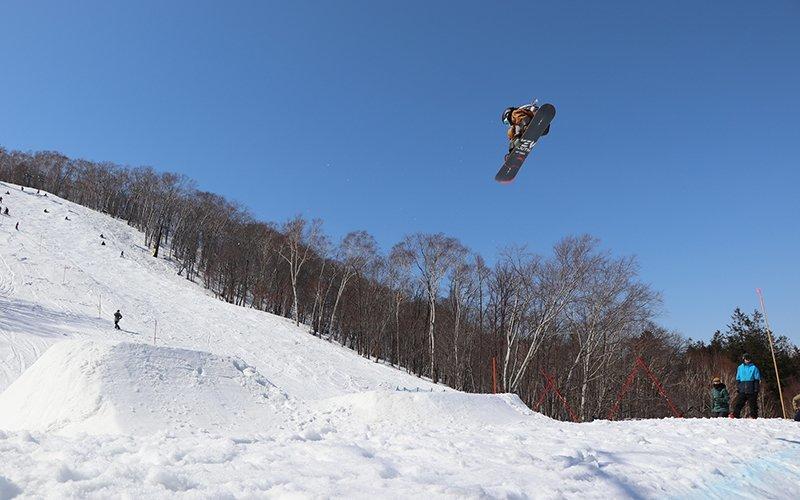 hanazono fis slopestyle open cup niseko