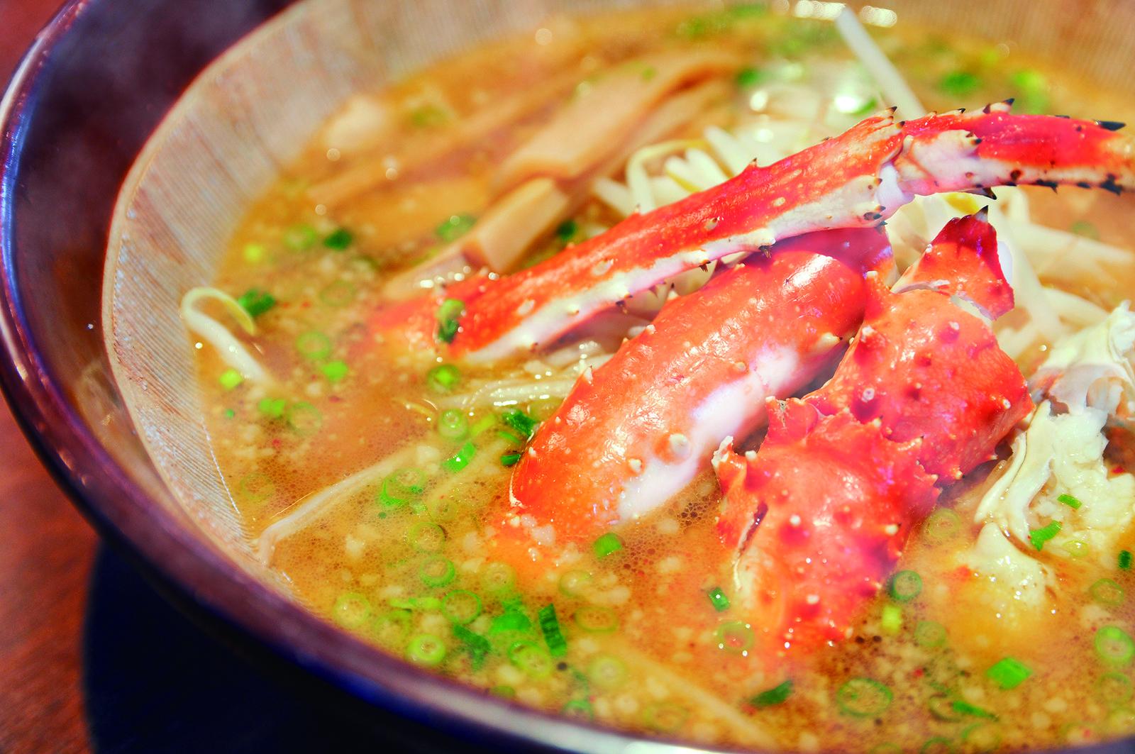 kani crab ramen hanazono 308 restaurant cafe