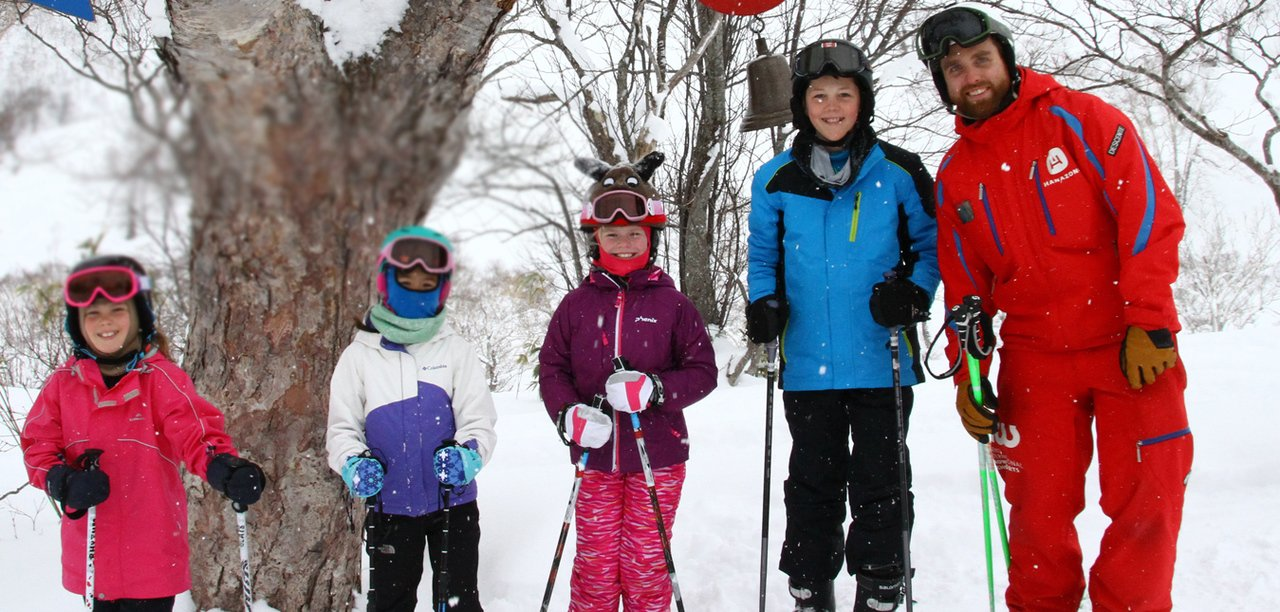 Ski school kids program large