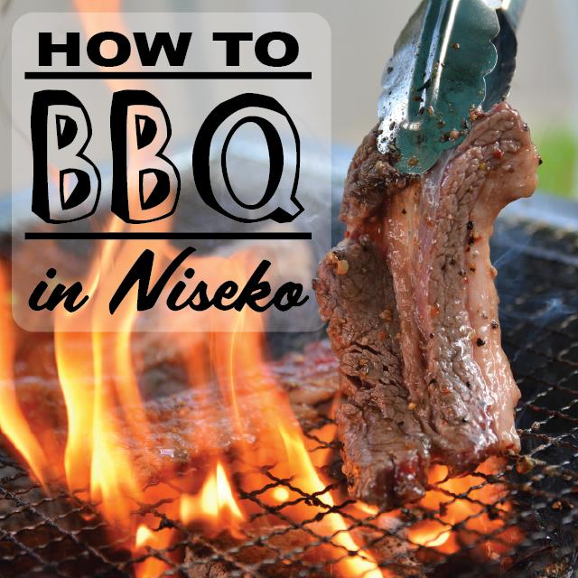 How to bbq in niseko
