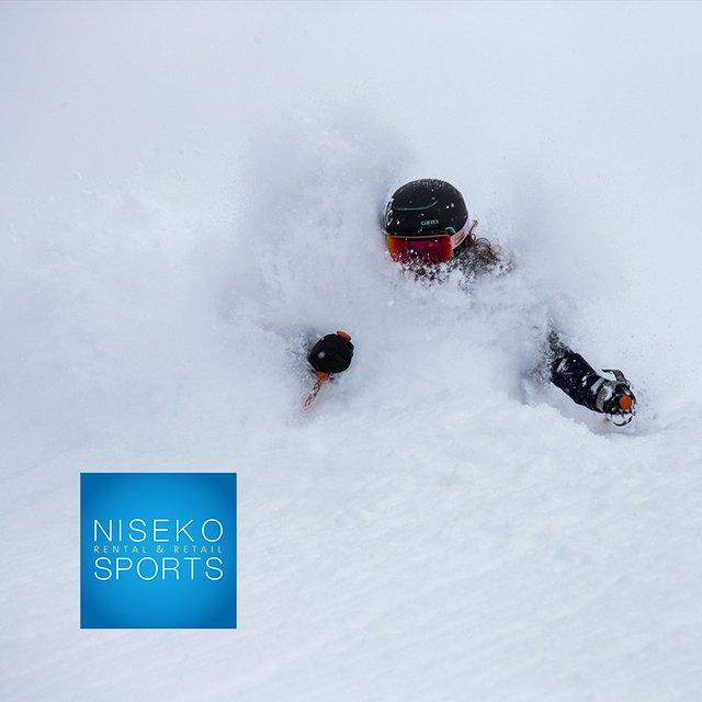 Niseko sports powder medium