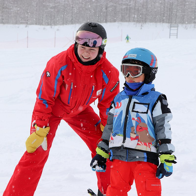 Hanazono niseko chinese ski lessons medium