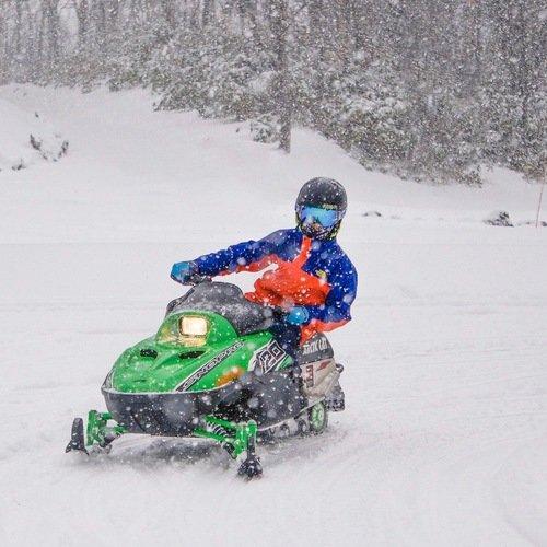 Kids snowmobile small
