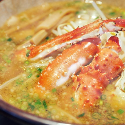 Hanazono niseko crab ramen small