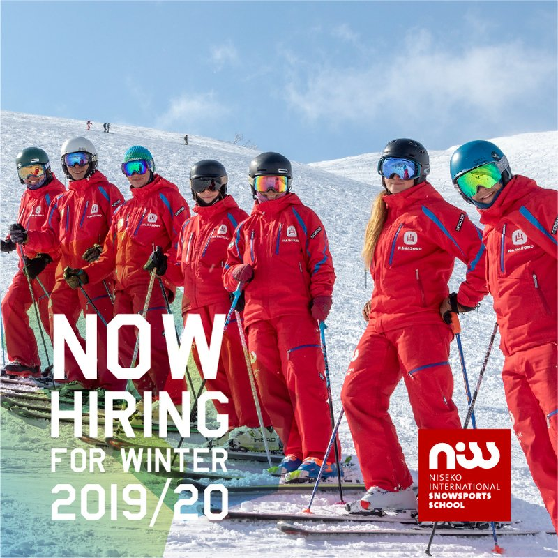Niss now hiring niseko ski instructor medium