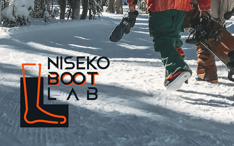 Niseko Boot Lab is a custom boot fitting and insole service launching at Hanazono 308 in December 2019.